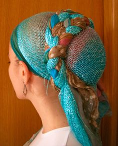 How to Cover: A Head-Covering Blog: Another Interview: Andrea of Wrapunzel