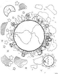 Oi!!! Desenhos para Colorir para o Dia da Terra. Clique para ampliar! Artigos Relacionados Maquiagem de Páscoa Aos pais – 10 Mandamentos de crianças especi... Jogo da Memória da família Trabalhando com fichas