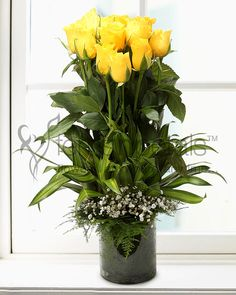 #Yellow #Roses #Valentine #Gift #For #Friends