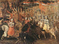 Bitwa pod Smoleńskiem 1 marca 1634 roku. /Obraz namalował Jan de Baan w 1663 roku.