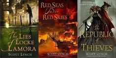 Thieves, pirates, and a beautifully planned series of heists that are a delight to watch unfold. This series is not without its share of heartbreak and loss, but the tribulations of its protagonists are tempered with a joyful sense of mischief, cunning, and a fair amount of swashbuckling. Oceans 11 meets Pirates of the Caribbean meets Robin Hood.