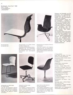 In the Aluminum Group chair was awarded the highest German design prize! Mid Century Modern Furniture, Mid Century Modern Design, Charles & Ray Eames, Modern Graphic Design, Set Design, Art And Architecture, Timeless Design, Typo, Brand Identity