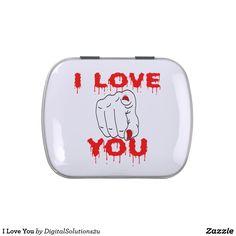 I Love You Candy Tin