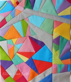 improvisational quilt | Inspiring Improvisational Quilts