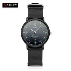 $5.99 (Buy here: https://alitems.com/g/1e8d114494ebda23ff8b16525dc3e8/?i=5&ulp=https%3A%2F%2Fwww.aliexpress.com%2Fitem%2FG151%2F32793615217.html ) GAIETY Leather Watch Man Sport Luxury Black Wrist Watch For Men Clock Fashion Dress Sport Men's Watch Cheap