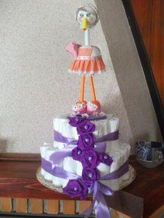 tarta de pañales y fofucigueña
