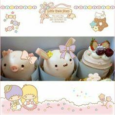 女の子心をくすぐるとってもかわいいケーキ♡  キキララちゃんのフレームでデコってかわいさもっとUPさせよう♡   These cakes look so delicious and cute♡  Decorate a picture of dessert with the cute Little Twin Stars'frame and stamps to make it even cuter♡   Photo taken byNunoumLoveKingonKawaii★Cam                             Join Kawaii★Cam now :)                            For iOS:               …