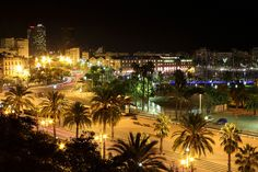 Barcelona at Night by Jared Boduch, via Flickr