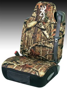 Browning camouflage neoprene universal bucket seat cover