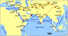 silk road maps trading routes | roman silk roads mongol empire trade medieval trade routes settlements