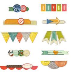 Crate Paper - Open Road Collection - Stitched Borders: