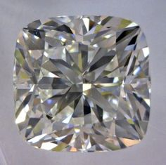 1.71-Carat Cushion Modified Brilliant Cut Diamond  This Fancy-cut I-color, and VS2-clarity diamond comes accompanied by a diamond grading report from GIA  $9246.83