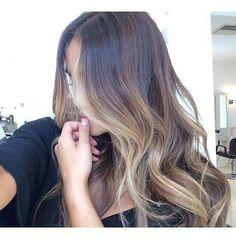 V #model  hair