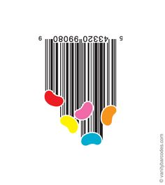 We are so used to the boring look of a bar code that our minds cannot even imagine it could look any different than it looks right now. But guess what? Barcode Art, Barcode Design, Graphisches Design, Logo Design, Layout Design, Animal Graphic, Web Design Agency, Web Layout, Cool Bars