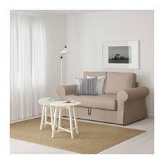 BACKABRO Kinyitható kanapé, Tygelsjö bézs - - - IKEA