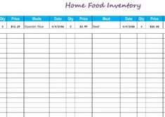 Inventory Template Word 4 Order Tracking Templates  Free Printable Pdf Excel & Word .
