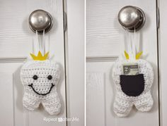Tooth Fairy Pillow - Free Crochet Pattern