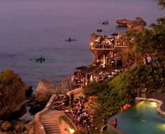The Rock Bar - Jimbaran Bay Bali