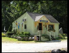 Hole in the Wall in Raymond, Maine has a great representation of crafts and fine arts.
