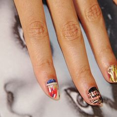 Beyoncé's Nails inspired by Basquiat #beauty