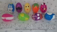 3 Ways to Decorate Plastic Easter Eggs