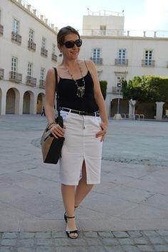 mcompany style: Black&White en primavera