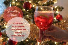 Christmas cocktail!