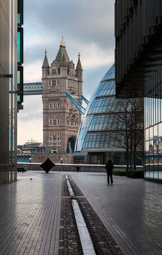 My spot, London.  My favorite hotel on the right, Hilton Tower Bridge.
