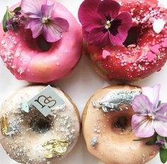 Have you ever seen such pretty donuts?!