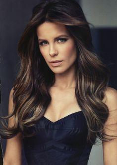 I want Kate Beckinsale's hair !!!!