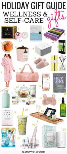 Holiday Gift Guide 2017: 23 Thoughtful Wellness & Self-Care Gifts // Looking for a thoughtful gift for someone who is into health, fitness, & self-care? Here are 23 wellness & self-care gifts you can give them this holiday!