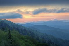 Visit the Great Smoky Mountains for a breathtaking vacation.