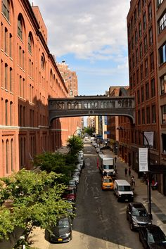 View of the popular High Line Park in the city :-)