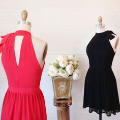 Lysanor  www.1861.ca Also available in magenta!  #boutique1861 #reddress #blackdress #cocktailress #lookbook #fashiondiaries #montreal
