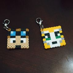 Stampy Party Favors - stampylongnose backpack clips