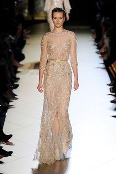 ELLE – Haute Couture Paris - Elie Saab - Fashionshow – Herbst Winter 2012-13