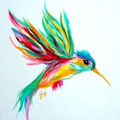 Items similar to watercolor hummingbird in flight- original painting on Etsy wa. Items similar to watercolor hummingbird in flight- original painting on Etsy watercolor hummingbir Colorful Hummingbird Tattoo, Hummingbird Tattoo Watercolor, Hummingbird Drawing, Palm Size Tattoos, Small Tattoos, Butterfly Wall Art, Butterfly Logo, Tattoo Themes, Cool Art