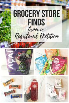 Grocery Store Finds from a Registered Dietitians via RDelicious Kitchen Healthy Grocery Shopping, Healthy Groceries, Supermarket Grocery, Grocery Store, Healthy Mind, Healthy Habits, Healthy Snacks, Healthy Eating, Diabetic Snacks