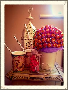 DIY candy plant