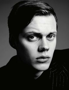 Bill Skarsgård by Hedi Slimane for HERO Magazine