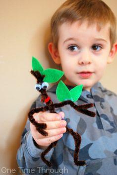 STICKMAN Ornament and Book Review: Christmas Blog Hop