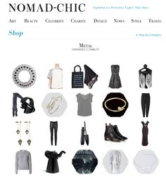 METAL http://www.nomad-chic.com/shop/view-by-destination/metal.html