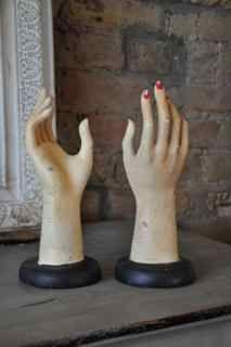 1950s shop display hands