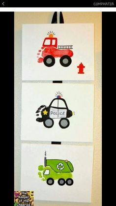 This article is not availableTransport travel nursery art print set trainMoreMoreFire engine Footprint Art Fspdt Fspdt frogs and snails - with fire protection .Fire engine footprint art Fspdt Fspdt frogs and snails - with fire Daycare Crafts, Baby Crafts, Crafts To Do, Preschool Crafts, Crafts For Kids, Arts And Crafts, Baby Footprint Crafts, Paper Crafts, Toddler Art
