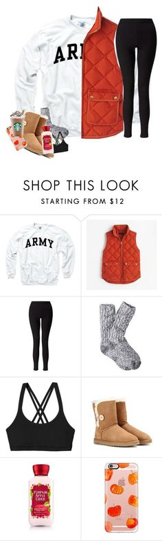 """Untitled #168"" by hannyjep on Polyvore featuring J.Crew, Miss Selfridge, Patagonia, UGG Australia, Casetify and Alex and Ani"