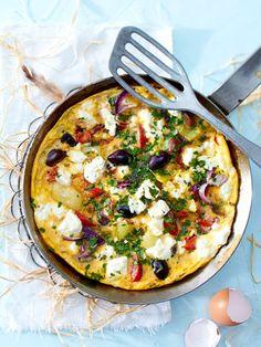 Griechisches Pfannen-Omelett