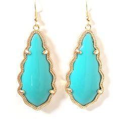 Selma Earrings In Mint