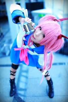 Cosplay angel beats Tachibana Kanade (« Tenshi »)