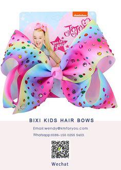 Freight free door-to-door jojo siwa bows 8 inch composite yarn ribbon hair bows with hair clip accessories Jojo Hair Bows, Kids Hair Bows, Jojo Bows, Baby Hair Bows, Ribbon Hair Bows, Jojo Siwa Hair, Jojo Siwa Bows, 8 Year Old Christmas Gifts, Disney Descendants Dolls
