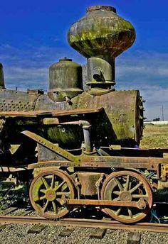CA Mining Train - Abandoned
